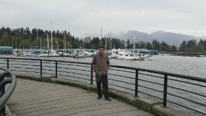 Libya student studying General English Course in Vancouver.