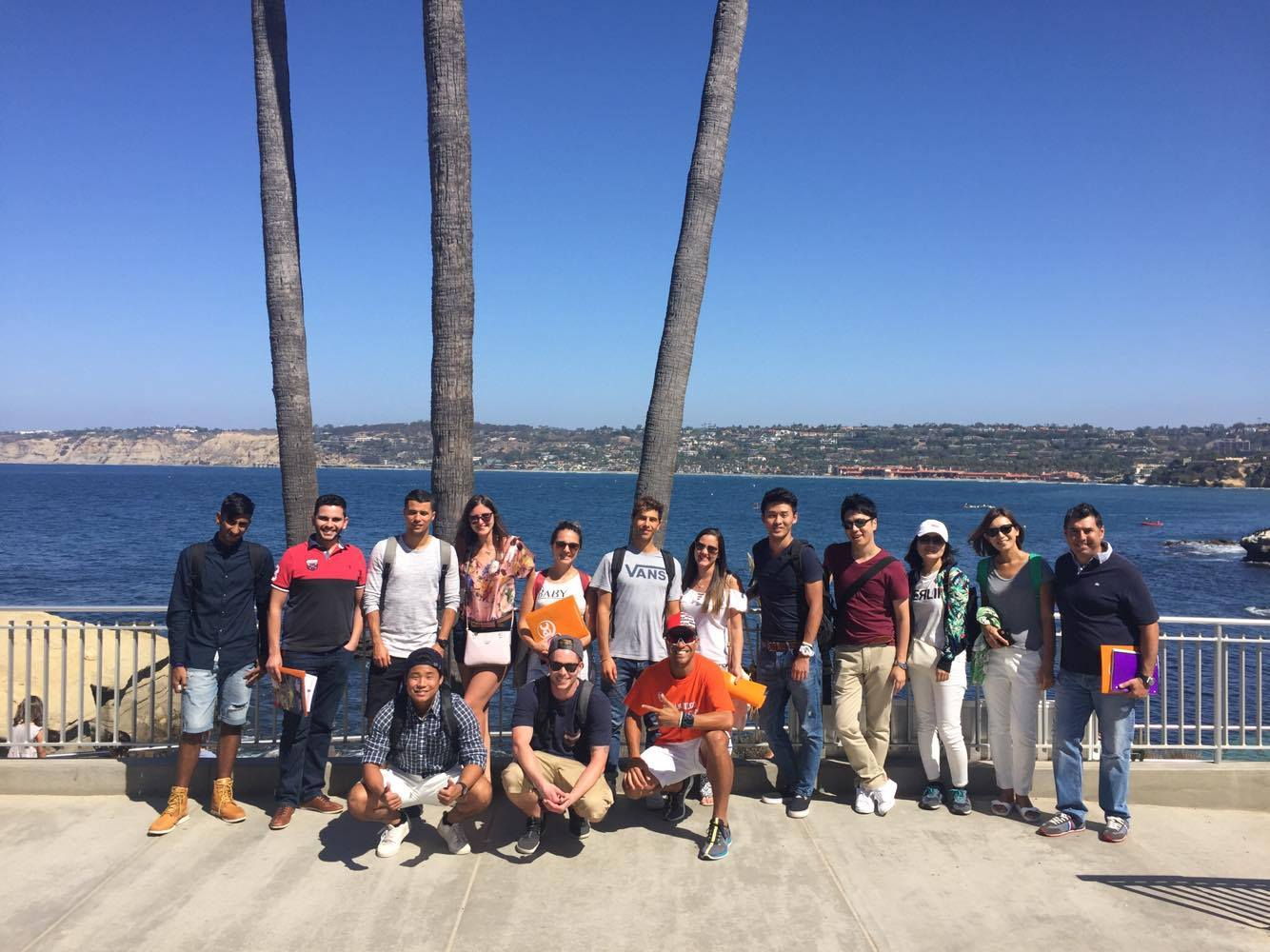 SALI Students Join EC San Diego English Language School tour